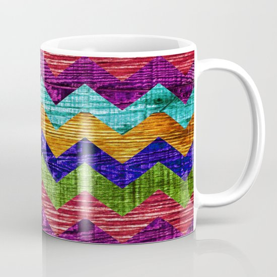 Natural Chevron Flow Mug