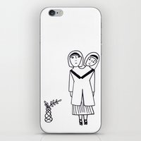 preppy iPhone & iPod Skins featuring preppy by Coco Huang