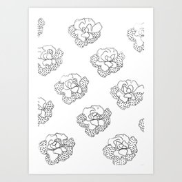 comfortinrepetition Art Print