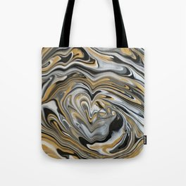 Melting Metals Tote Bag
