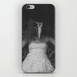 Dead Bird in a Mitten iPhone Skin