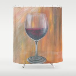 Whine About it Shower Curtain