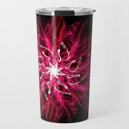 Aerial Silks Flower Travel Mug
