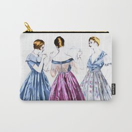 Vintage Dresses Carry-All Pouch