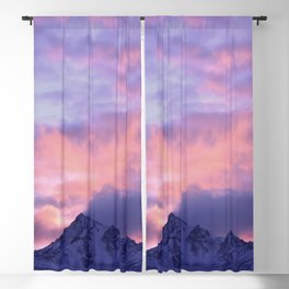 Rose Serenity Sunrise III Blackout Curtain
