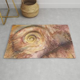 Abstract Shell Rug