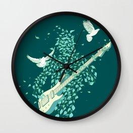 Nature Rocker Wall Clock