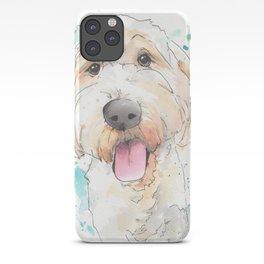 Labradoodle Original Artwork iPhone Case