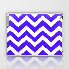Han purple - blue color - Zigzag Chevron Pattern Laptop & iPad Skin