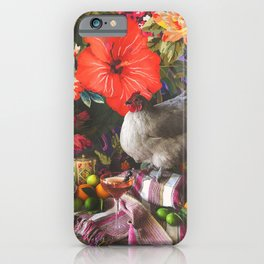 Still Life with Fat Chicken iPhone Case