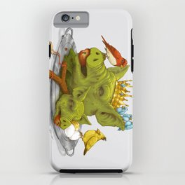 Furious Fowl iPhone Case