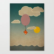 The flying fish Canvas Print
