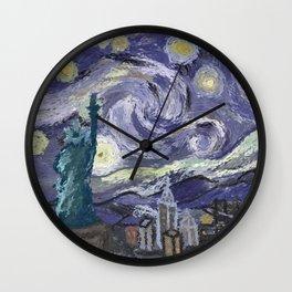 Hurricane Sandy Wall Clock
