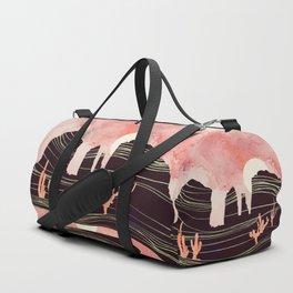 Rose Desert Duffle Bag