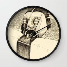 'Fall' Wall Clock