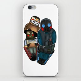 Folk fighters iPhone Skin