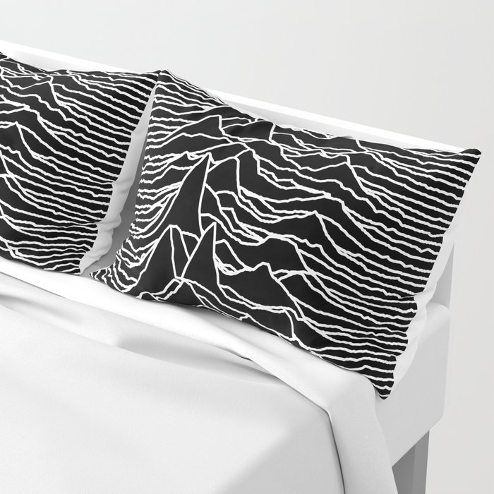 Joy Division - Unknown Pleasures Pillow Sham