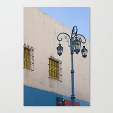 Street lights of La Boca I Canvas Print