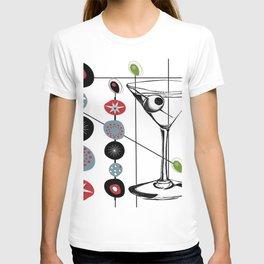 Mid-Century Modern Art Atomic Cocktail 3.0 T-shirt