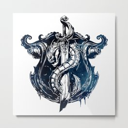 League of Legends BILGEWATER CREST Metal Print