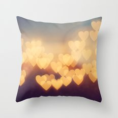 Bright New Love Throw Pillow