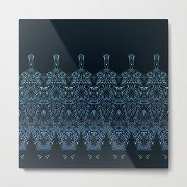 flowing lines pattern 1 Metal Print