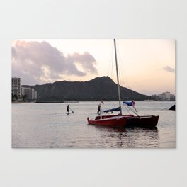 Hawaii in the morning-Traveling series Canvas Print