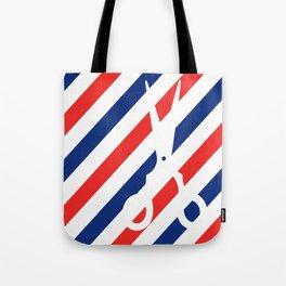 Barber Scissors Tote Bag