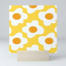 Scrambled eggs Mini Art Print