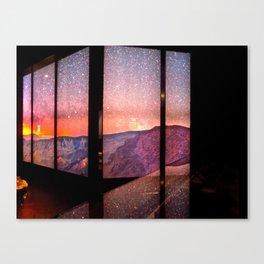 Space Views Canvas Print