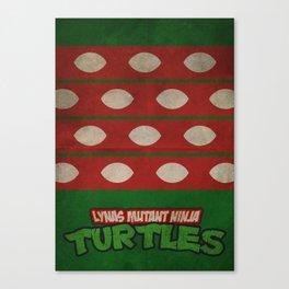 LYNAS Mutant Ninja Turtles: Raphael Canvas Print