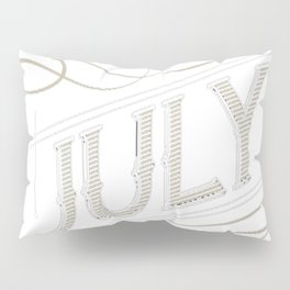 Legends-are-Born-in-July-T-shirt Pillow Sham