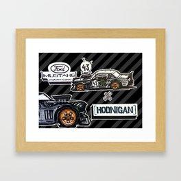Project Mustang (Hoonicorn) 1965 Framed Art Print