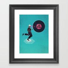 Copy Ninja's Kamui Framed Art Print