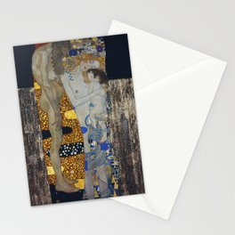 The Three Ages Of Woman Gustav Klimt Stationery Cards
