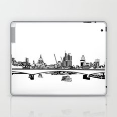 London Black and White Laptop & iPad Skin