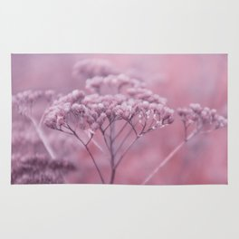 Nature in pink Rug