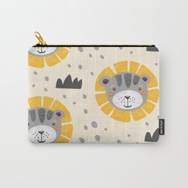 Cute lions Carry-All Pouch