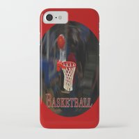 basketball iPhone & iPod Cases featuring Basketball by LoRo  Art & Pictures