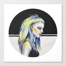 Tiny Yolandi Canvas Print