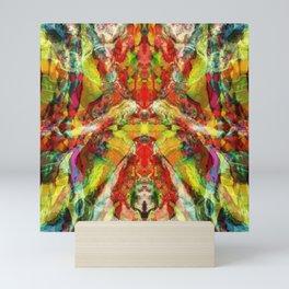 The warm hypnosis Mini Art Print