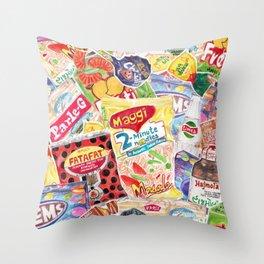 GOODIE BAG Throw Pillow