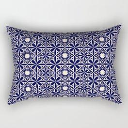 Pattern art curtain 2 Rectangular Pillow