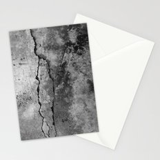 Broken Stone Texture Stationery Cards