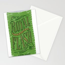Royal Straight Flash Stationery Cards