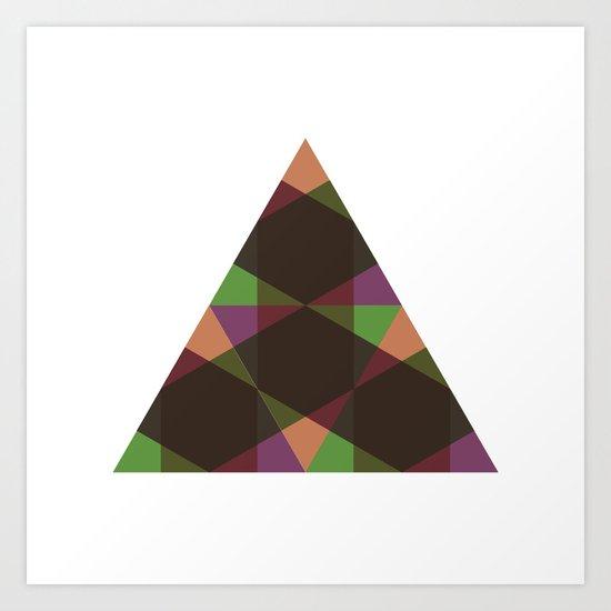 #397 Changeling – Geometry Daily Art Print