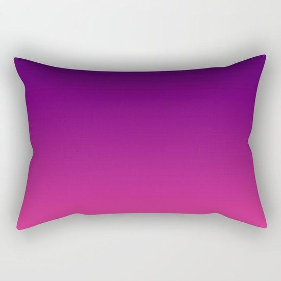 Ombre gradient digital illustration purple red colors Rectangular Pillow