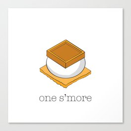 One More S'more Canvas Print