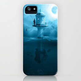 le phare iPhone Case