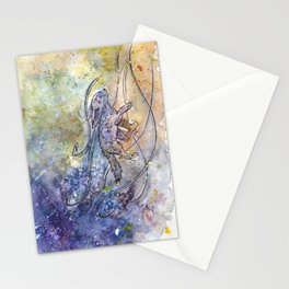 Fennec fox. Resistance. Stationery Cards